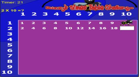 Screenshot - Buzzy Times Table Challenge