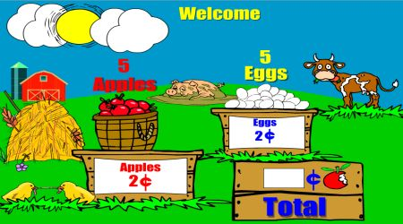 Screenshot - Farm Stand Math