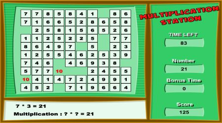 Screenshot - Multiplication Station